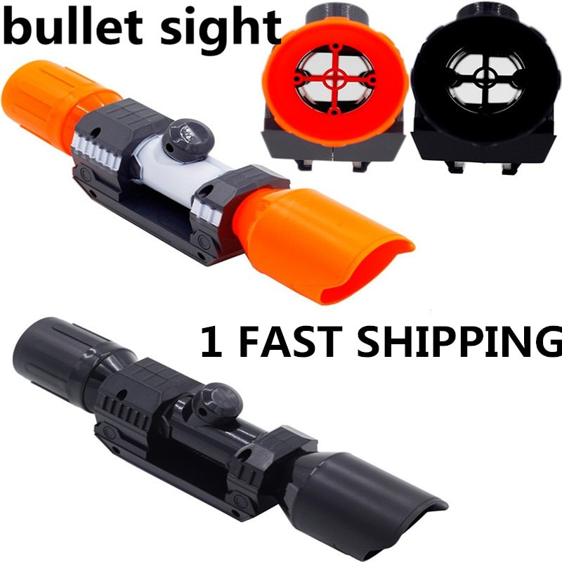 compatible modified part front tube sighting device for nerf elite series fit for kids toy gun Soft bullet Gun Sight Universal Accessories For Nerf Compatible Soft Bullet Assembly Parts Tube Sighting Device for Nerf Elite