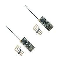 2 sztuk FS2A 4CH AFHDS 2A Mini kompatybilny odbiornik wyjście PWM do Flysky i6 i6X i6S nadajnik
