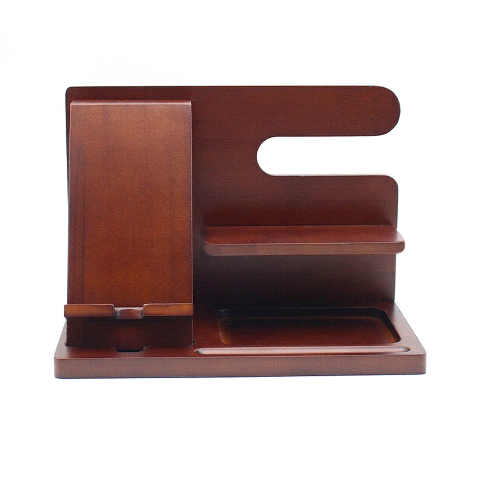 محطة إرساء الهاتف الخشبي مفتاح محفظة بحامل بطاقات حامل كلاسيكي للرجال محطة الإرساء والمنظمون محطة إرساء الهاتف الخشبي