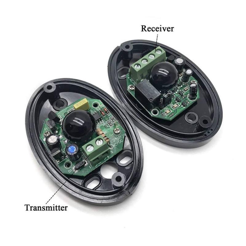 Detector fotoeléctrico activo único rojo del Sensor de la barrera del reloj...