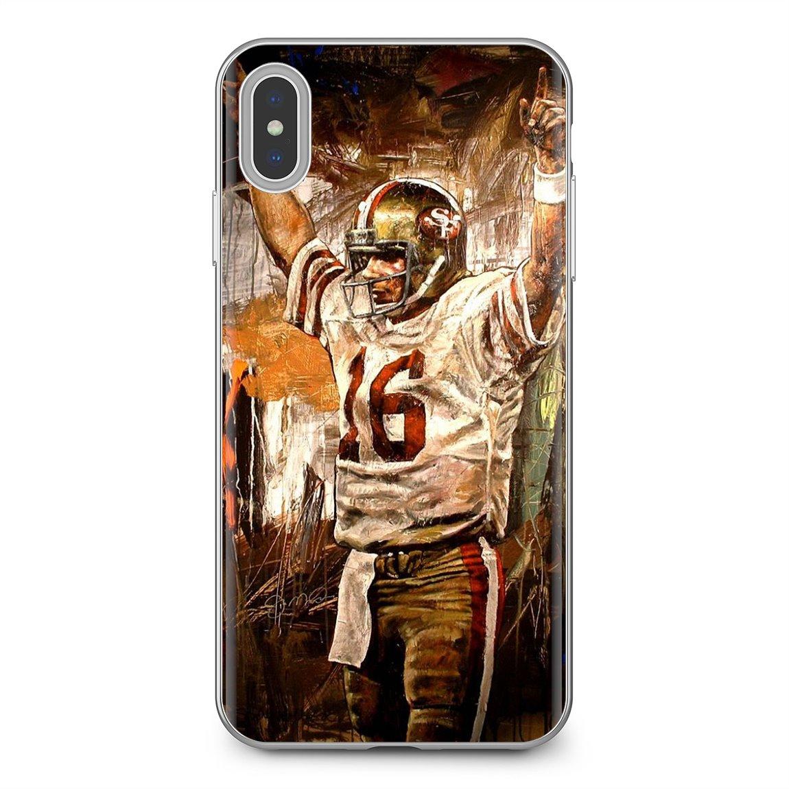 TPU caso suave Joe Montana Super Bowl MVP estrella para Huawei G7 G8 P7 P8 P9 P10 P20 P30 Lite Mini Pro P Smart 2017 de 2018 a 2019