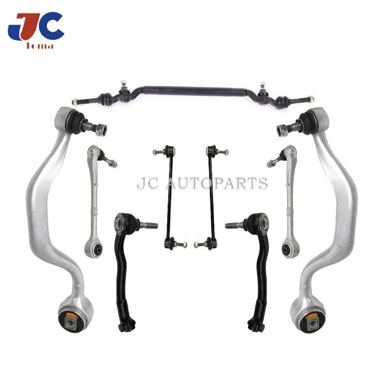 Peças de suspensão automóvel braço de controle para BM-W e39 bola joint tie rods kits reparo completo 31121092609 31121141961
