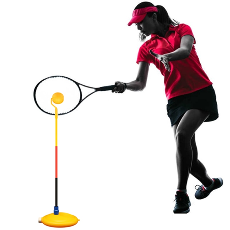 Machine Portable Ball Training Beginner Equipment Tenis Accessories Outdoor Tennis Trainer Tool Professional Topspin Practice