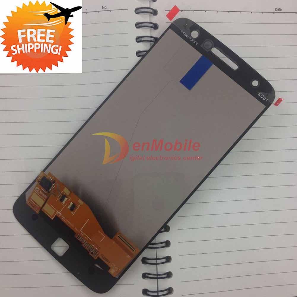 Probada Amoled para Motorola Z MOTO Droid XT1650 Mo1650 XT1650-03 05 XT 1650 LCD pantalla MONTAJE DE digitalizador con pantalla táctil piezas, 1 pieza