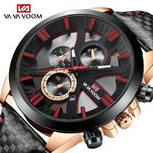 VAVA VOOM Mens Quartz Watches Business Wristwatch Waterproof Fashion Clock For Man Sports Luxury Wri