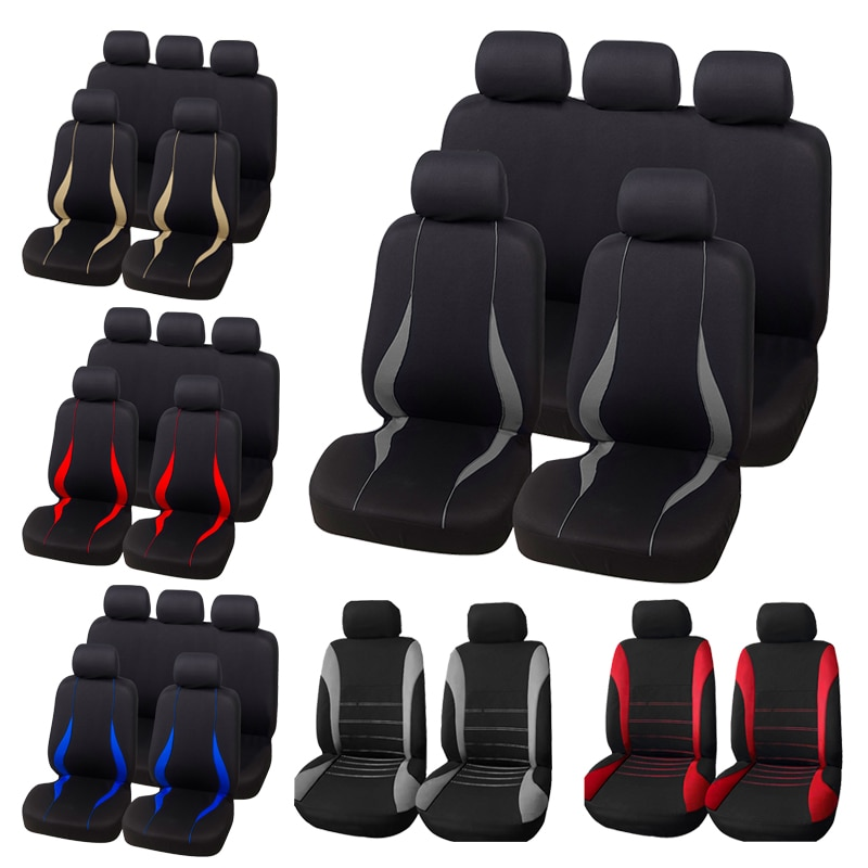 AUTOYOUTH Car Seat Covers Interior Accessories Airbag Compatible Seat Cover For Toyota Camry Volkswa