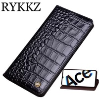 genuine cow leather flip case for oppo reno ace cover magnetic case for reno2 z 10x cases leather cover phone cases fundas