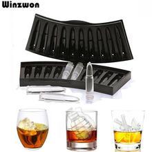 Cube à glace créatif en forme de crâne   Pistolet créatif, bricolage plateau à glaçons, moule à chocolat, Home Bar fête Cool whisky vin crème glacée