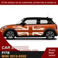 car sticker side body flag graphic vinyl cool car decals custom suv fit for mini 2012 2013 2014 2015 2016 2017 2018 2019 2020