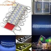 20pcslot led module 5054 2led dc 12v waterproof led backlight for advertisement design led modules white super bright lighting