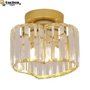 Crystal Ceiling lamp Living room light for home  Bedroom Loft lighting Fixture Corridor Hall lustre home shop Decor lamps LED