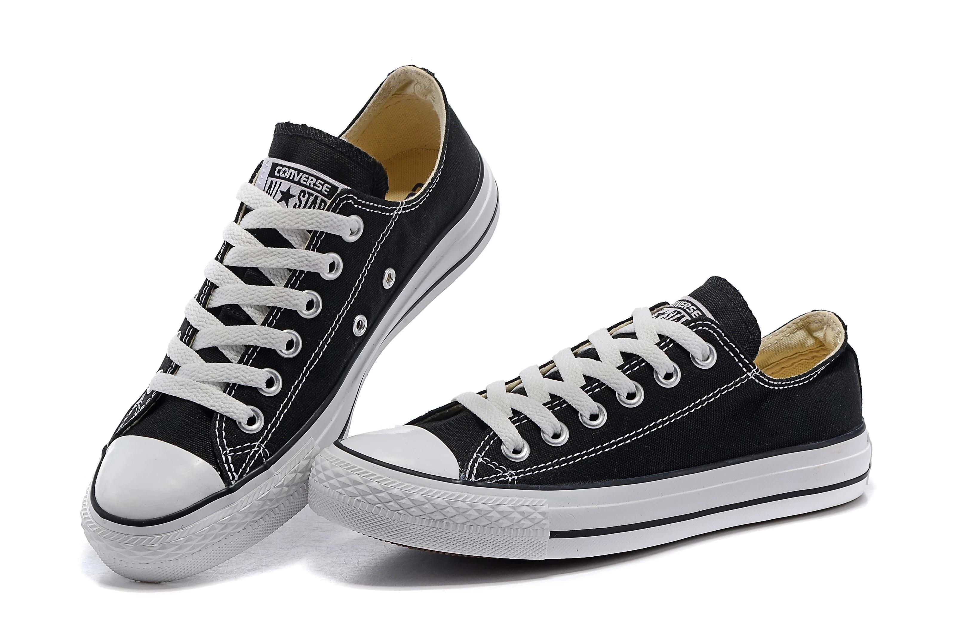 Women Luxury Sneakers Flat Lace Up Black Unisex Vulcanized Shoes Men Rubber Sole Casual Autumn Big S