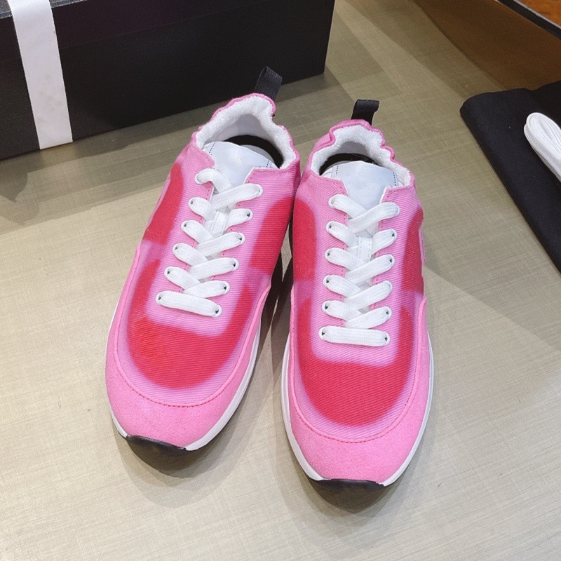 Women's running shoes outdoor jogging walking shoes high quality fabric high bounce mixed color women's running shoes