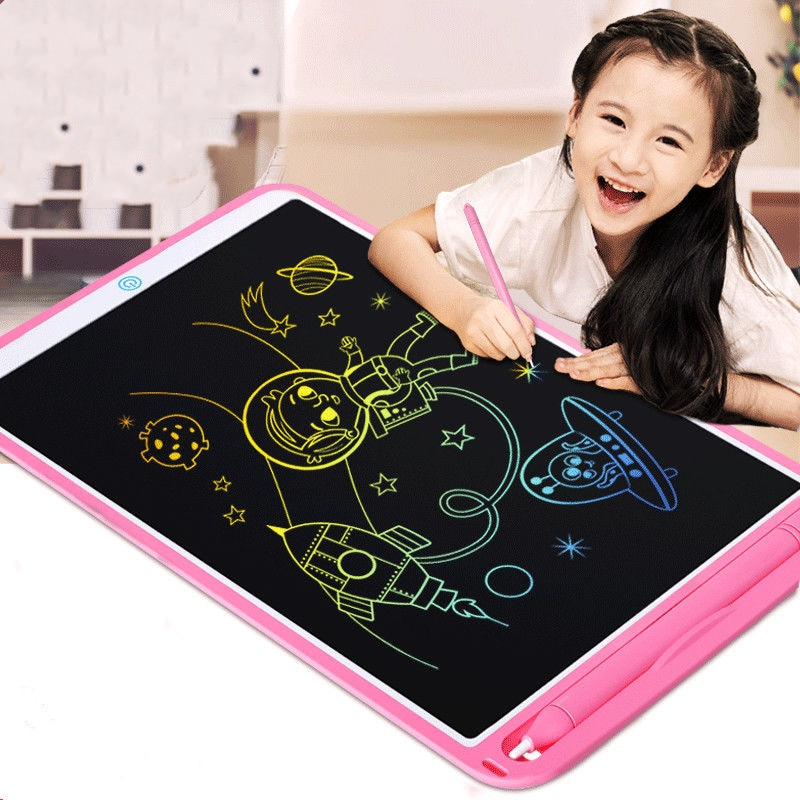 8.6 Color LCD Writing Tablet Digital Drawing Tablet Handwriting Pads Portable Electronic Tablet Board Ultra-thin Board with Pen недорого