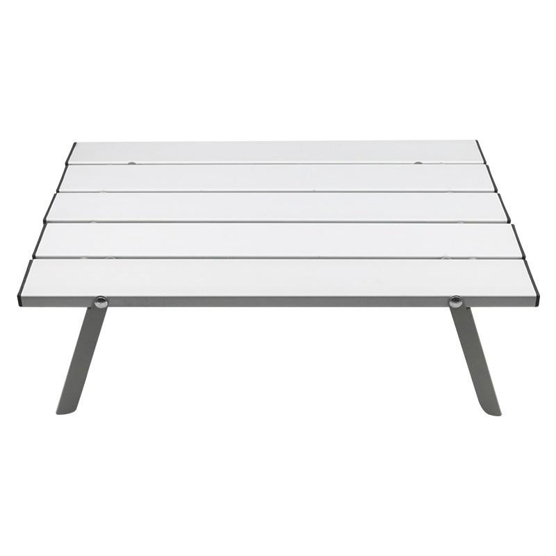 Mesa portátil de aleación de aluminio para exteriores, mesa plegable para acampar,...