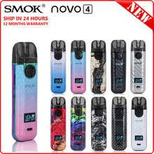 NEW! Original SMOK Novo 4 Pods Kit with 800mAh Battery NOVO4 Cartridges LP1 Coils VS NOVO 2 NOVO2 Nord 4 RPM4 W01