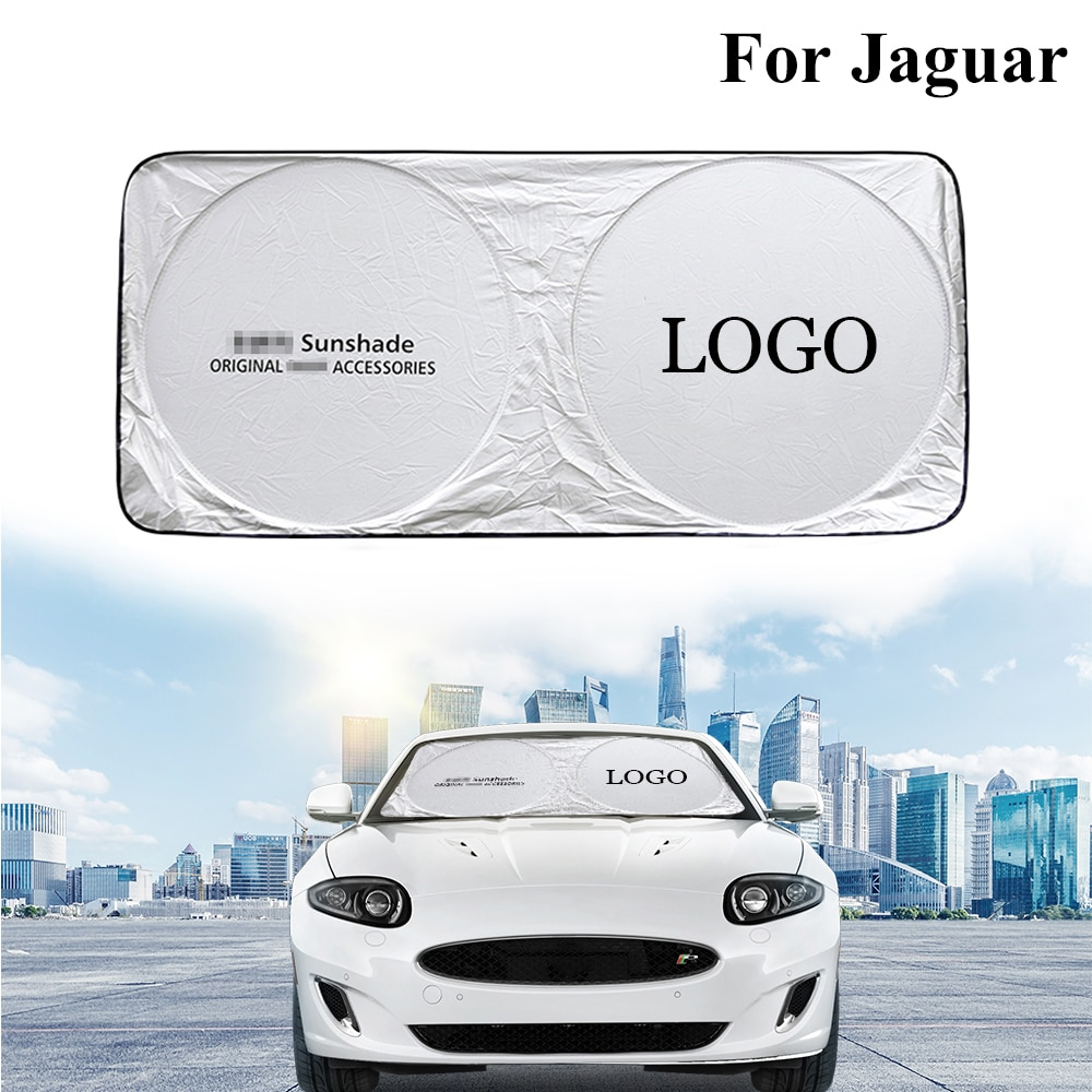 Car Summer Windshield Cooling Sunshade Front Rear Window Sun Shade car accessories For Jaguar XF XJ XK X-Type S-Type S F E Pace