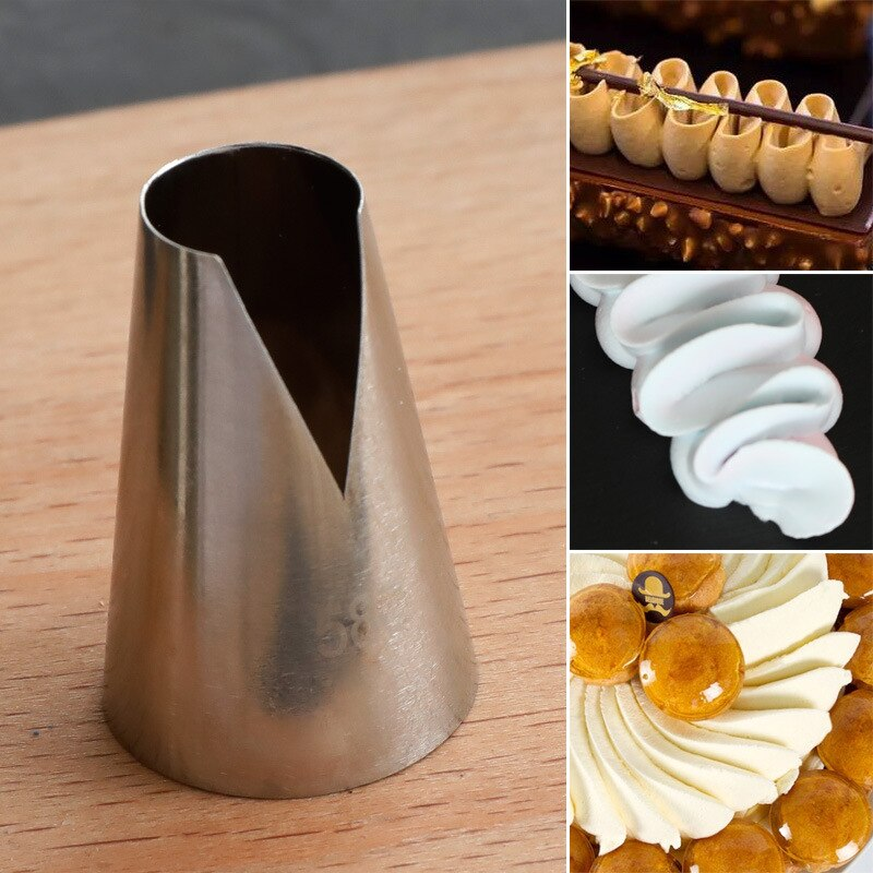 #580 glaseado de consejos de decoración para pastel y pastelillo pastelería herramienta...
