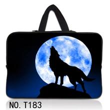 Wolf Moon Laptop Bag 15.6 15 17 14 13.3 13 12 10 Tablet 10.1 Netbook  Case Bags For Apple Chuwi Hi12