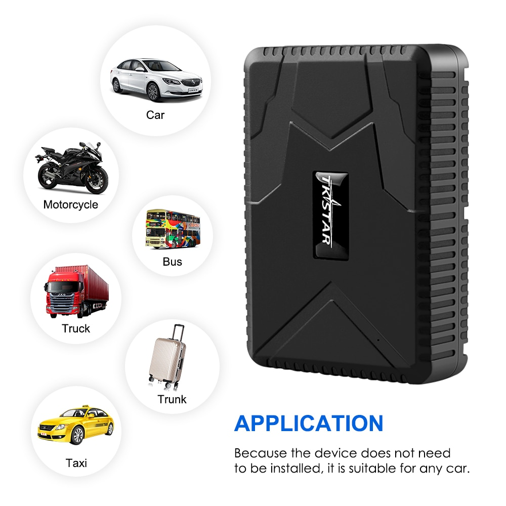 Car GPS Tracker TK915 GPS Locator 10000mAh Magnet Waterproof IP65 GPS Car Tracker Tamper Alert LIFETIME FREE APP PK enlarge