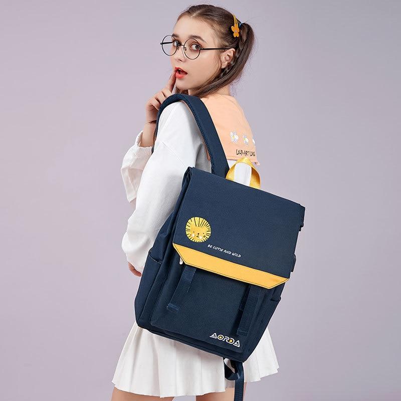 Женский школьный рюкзак, сумка для книг, школьный рюкзак для подростков, женский рюкзак для ноутбука 15,6 дюйма