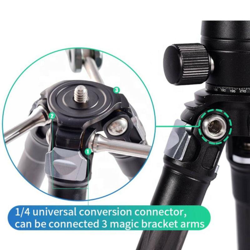 Coman Phone Tripod Stand Carbon Fiber Camera Protable Tripod Selfie Stick Universal Photography for DSLR Camera Live Broadcast enlarge