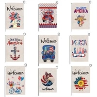 holiday garden flags double sided decorative garden flag summer waterproof yard flags outdoor home decoration accessories