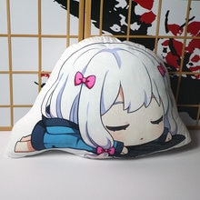 Izumi Sagiri figura de peluche animado Eromanga Sensei muñeca chica almohada 55*40cm Cosplay para regalo