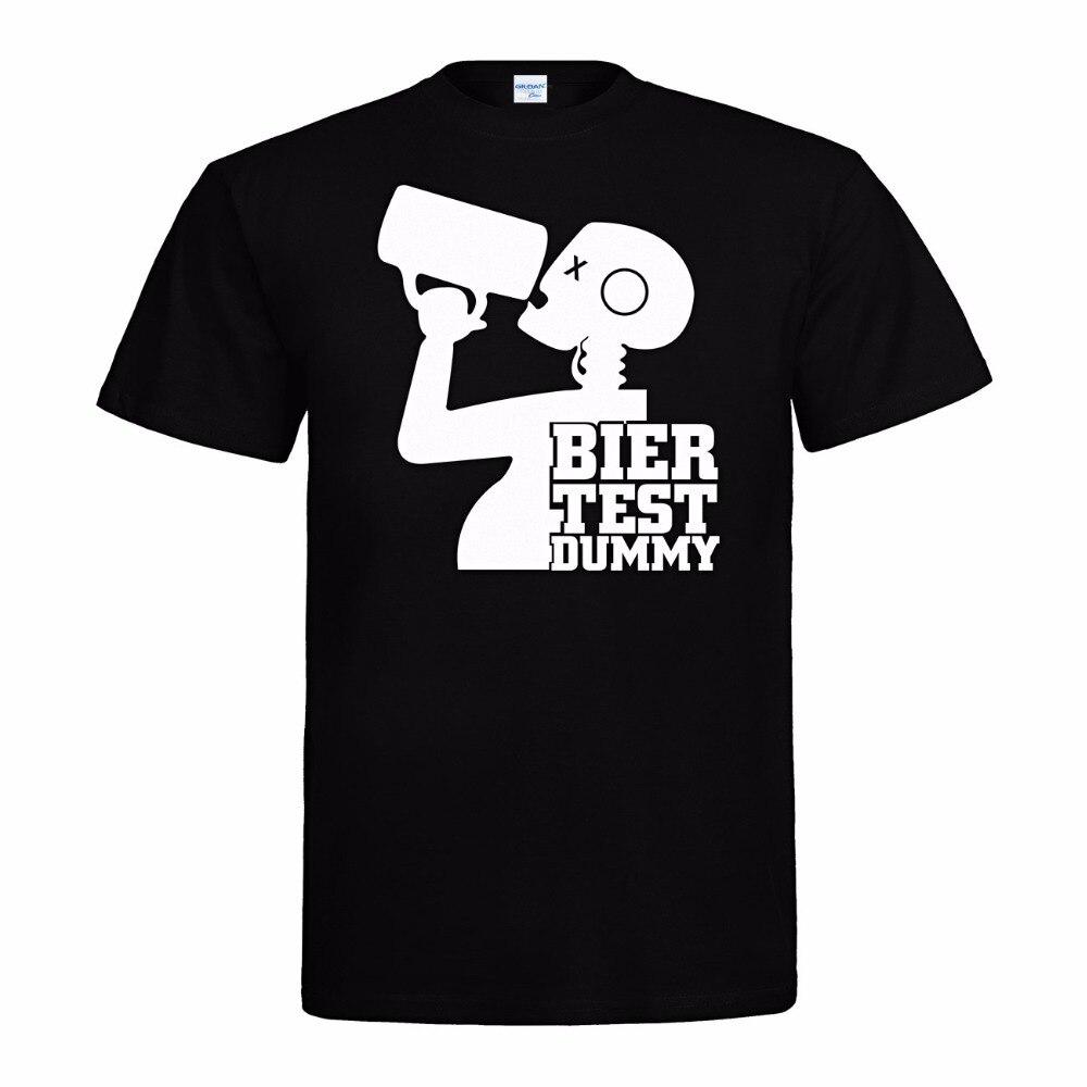 ¡Novedad! Camiseta fresca de moda divertida Oktoberfest Sauf Bbq Grill T-Shirt - Bier Test Dummy - S Bis 3Xl camiseta