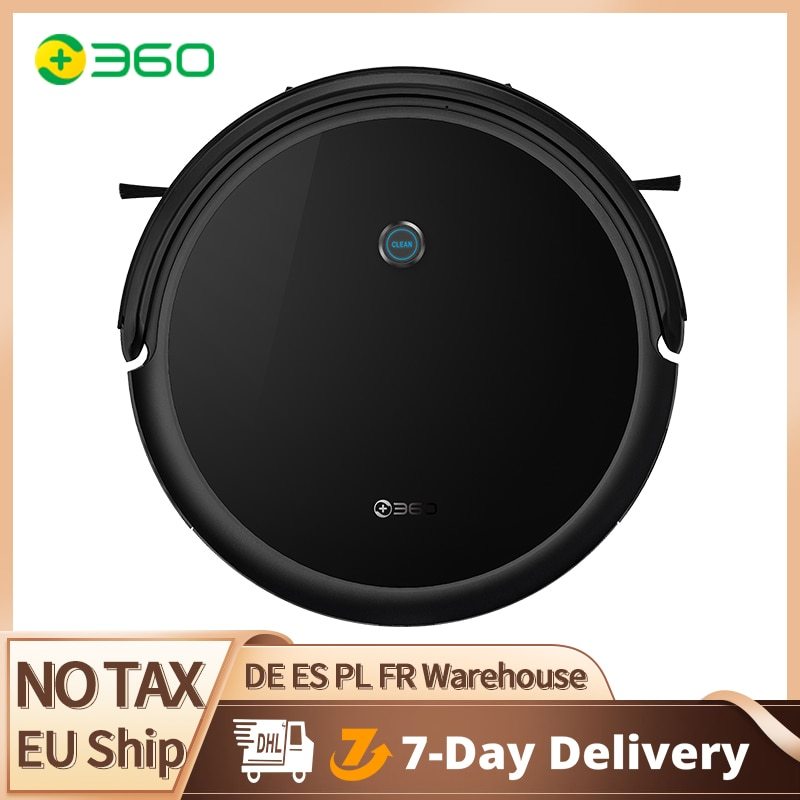360 Robot Vacuum Cleaner C50 Cordless Cleaner Sweeping +Mopping 26kPa Lithium battery Front collision Radar LDS Wall guiding