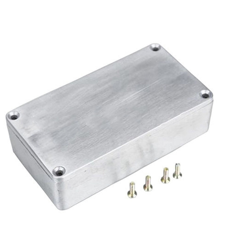 1590B/ Style Guitar Effects Pedal Aluminum Stomp Box Enclosure for DIY Guitar Pedal Kit