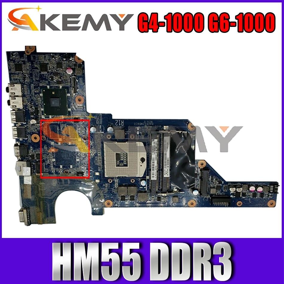 636370-001 636370-501 ل HP جناح G4-1000 G6-1000 مفكرة اللوحة DA0R12MB6E0 DA0R12MB6E1 HM55 DDR3 اللوحة المحمول