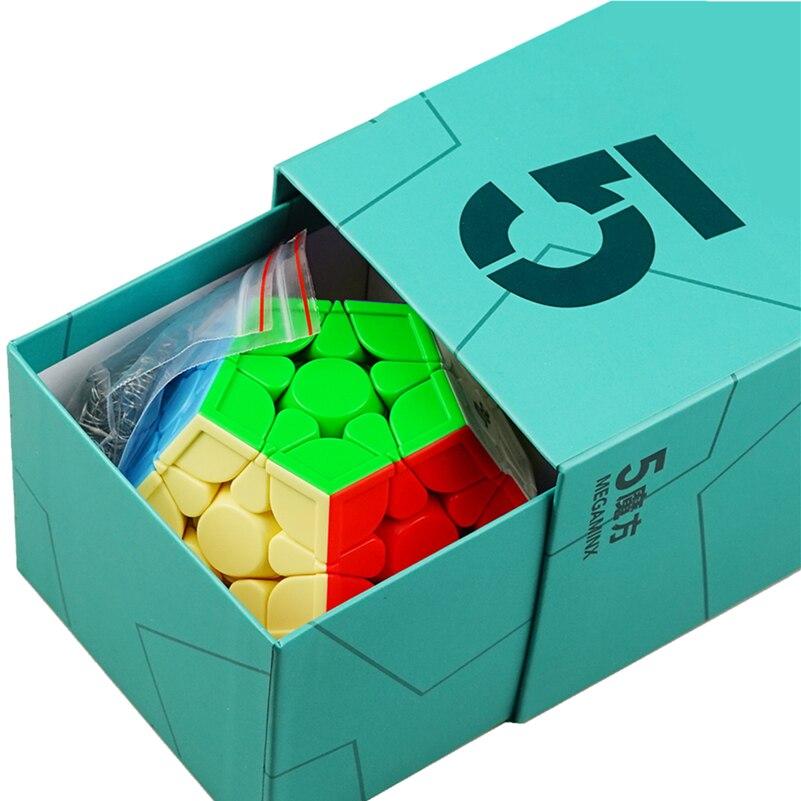 تسليم سريع Yongjun MGC Megaminx المغناطيسي المكعب السحري MGC 5 متر 3x3x5 ماجيك cubo YJ مكعب سرعة مكعبات المغناطيسي لغز ألعاب أطفال