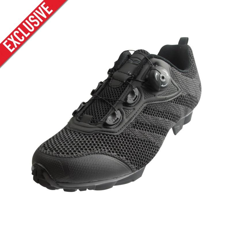 Эксклюзив! Tiebao Мужская трикотажная верхняя обувь для велоспорта дышащая легкая обувь для горного велосипеда Sapatilha Ciclismo MTB с самоблокирующей...