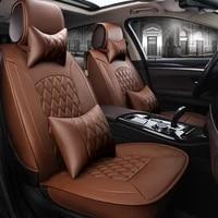zrcgl universal flx car seat covers for fiat all models palio viaggio ottimo 500 bravo freemont car styling auto accessories