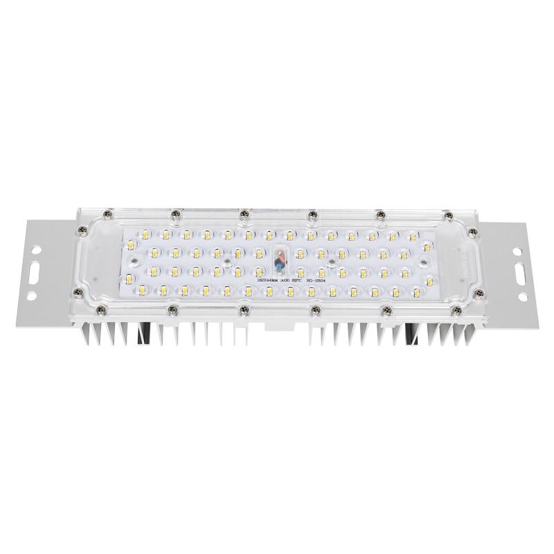 Módulo LED de farolas 50W IP67, luces de estación de aceite transformables impermeables, módulo led rectangular para luces de inundación DC42V 1200ma