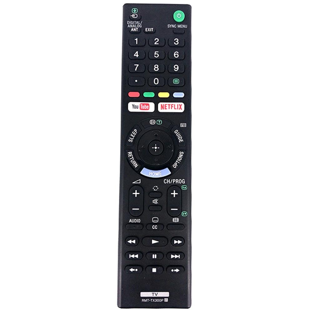 Nuevo RMT-TX300P control remoto para Sony HDR 4K Ultra HD TV RMT-TX300B RMT-TX300U YOUTUBE / NETFLIX Fernbedienung