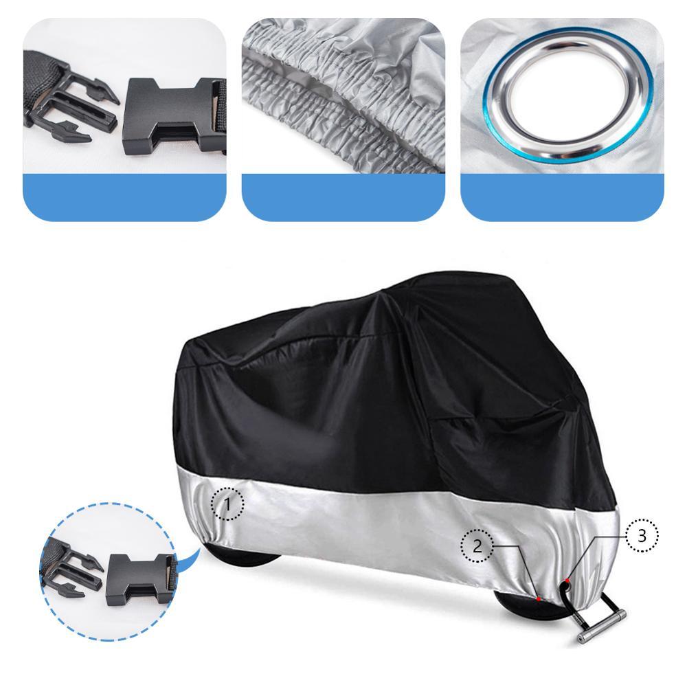 Универсальный чехол для мотоцикла защита от дождя и пыли УФ лучей скутера