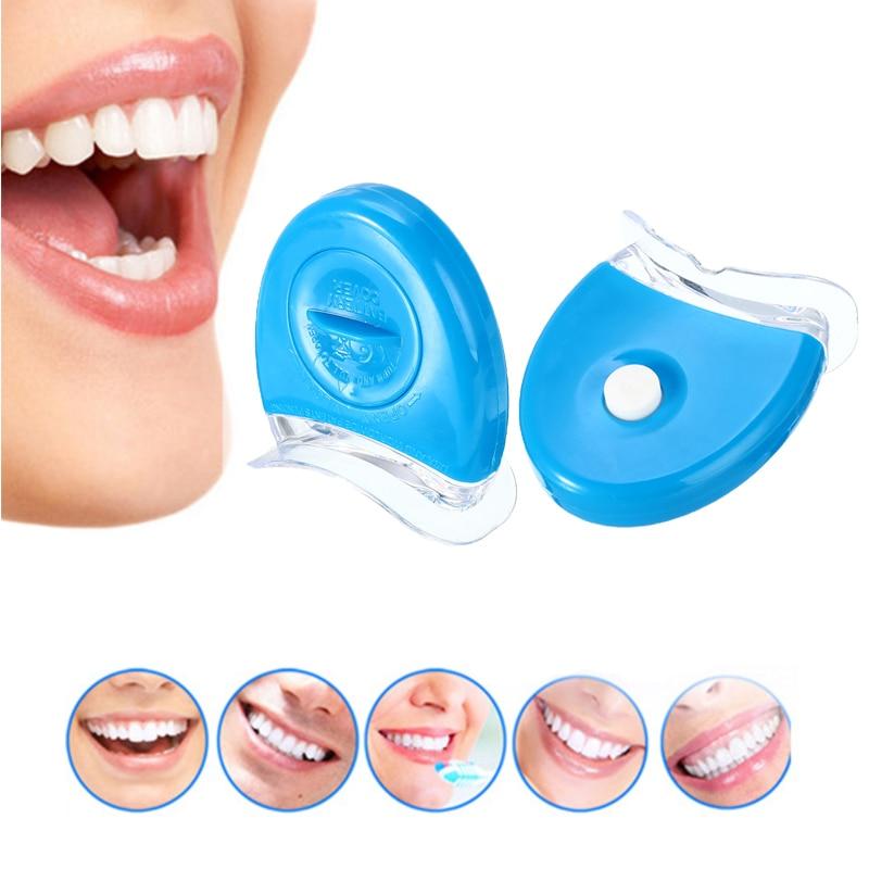 LED Dental Light Teeth Whitening Light Batter LED Bleaching DC6V Tooth White Oral Care Teeth Whitening Tool For Health Person