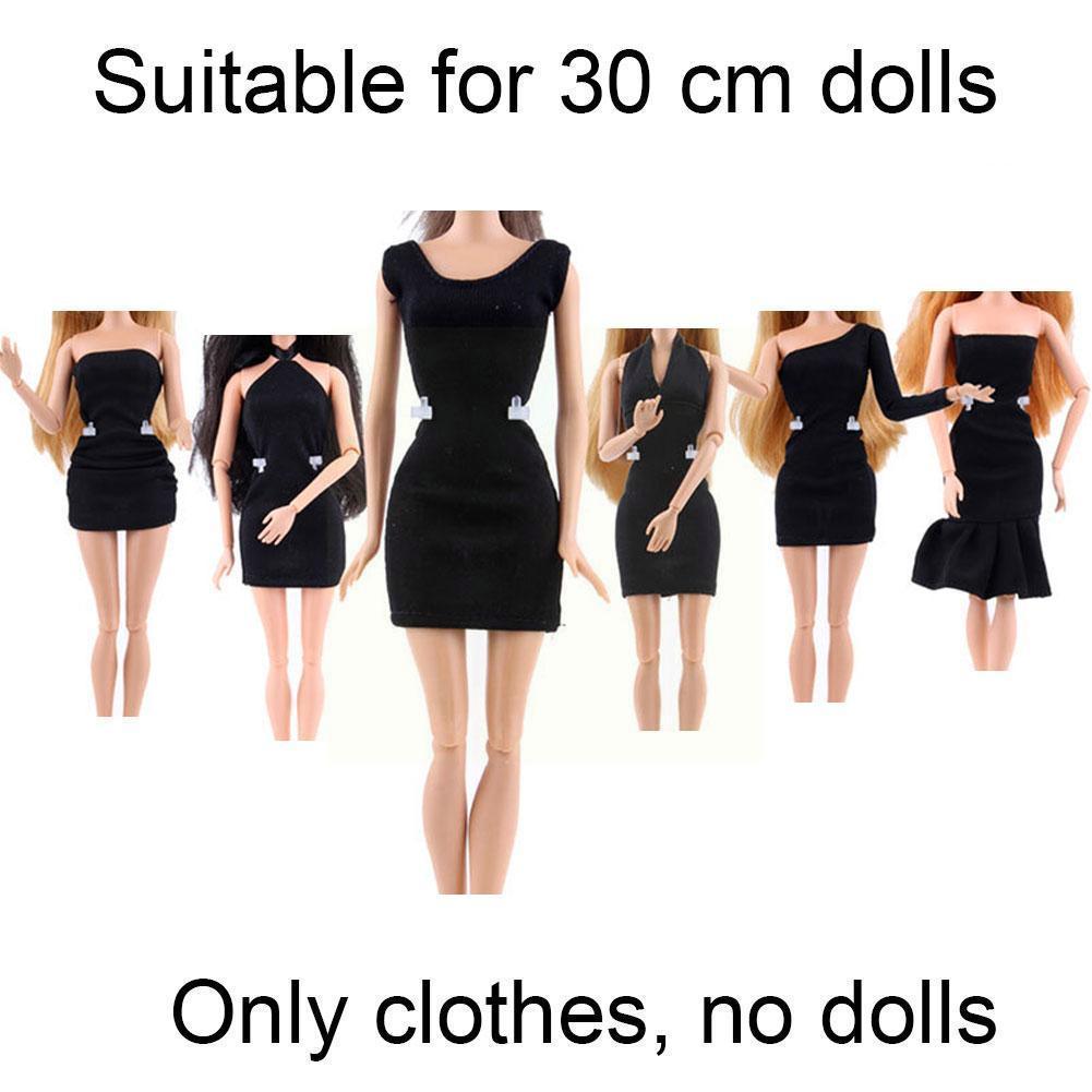 Аксессуары для кукол, игрушки, различное черное платье, аксессуары для телефона, повседневная одежда, платье, одежда, аксессуары A8A2