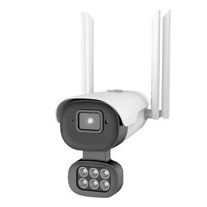 Уличная камера безопасности WIFI Беспроводная камера HD WiFi 10 огней двойная яркая IP66 Водонепроницаемая камера наблюдения камера для дома