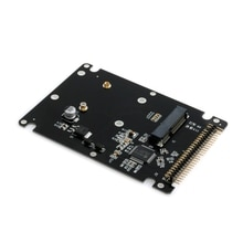 "44PIN mSATA zu 2,5 ""IDE HDD SSD mSATA zu PATA Adapter Konverter Karte mit Fall"