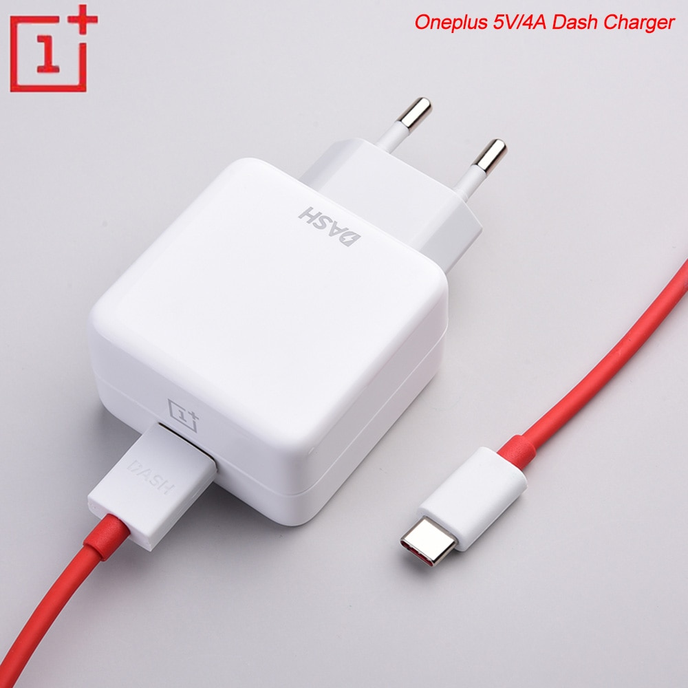 5V/4A Dash Charger USB Fast Charging Adapter 1M USB Dash Cable For Oneplus 3 3T 5 5T 6 6T 7 7T Pro