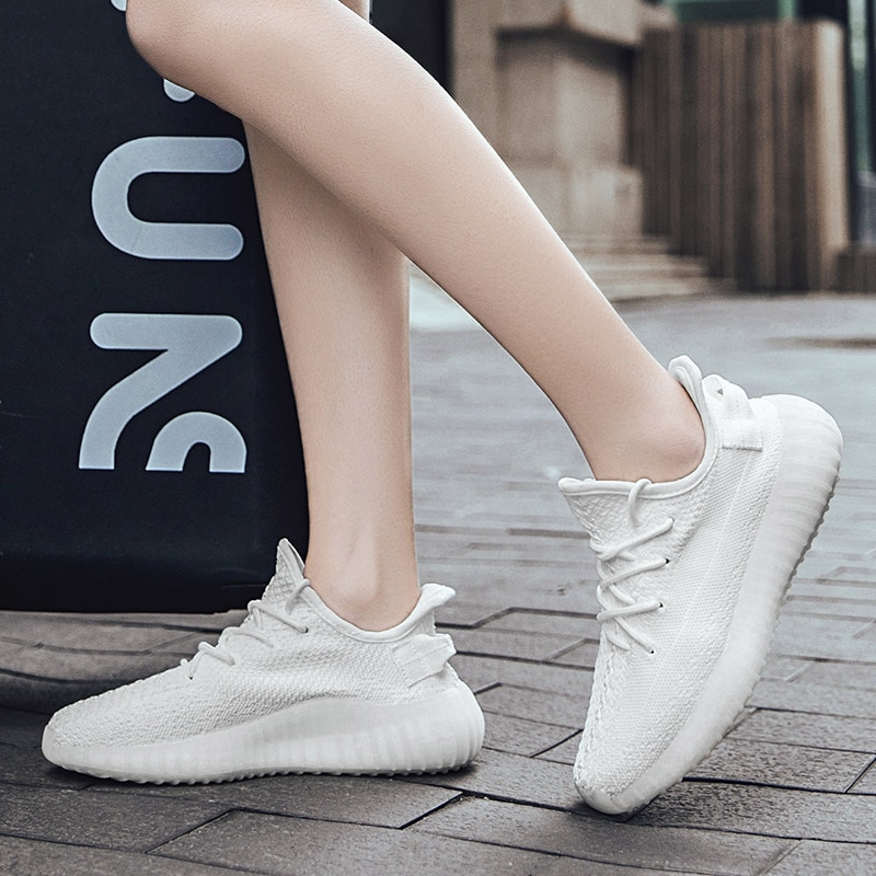 High Quality Casual Running Sneakers Women Shoes Mesh 2021 Spirng Breathable Men Shoes Training Zapa