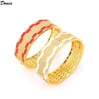 donia jewelry new shell bracelet inlaid with aaa zircon gold plated bracelet luxury womens honeycomb bracelet selling well