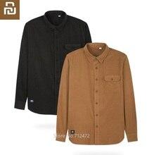 Youpin MITOWNLIFE chemise de travail   Pour hommes, chemise de travail en coton confortable classique, veste à manches longues, vêtements de travail, chemises
