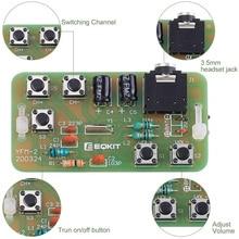 76-108MHz Radio Stereo FM Kit fai-da-te modulo ricevitore FM Wireless modulazione di frequenza elettronica progetto di pratica di saldatura