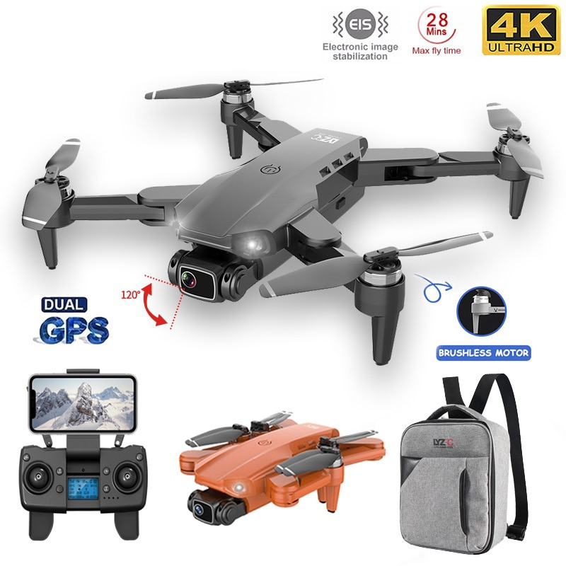 L900PRO GPS Drone 4K Dual HD Camera Photography Brushless Motor Professional Foldable Quadcopter RC Dron Long Distance 1.2km