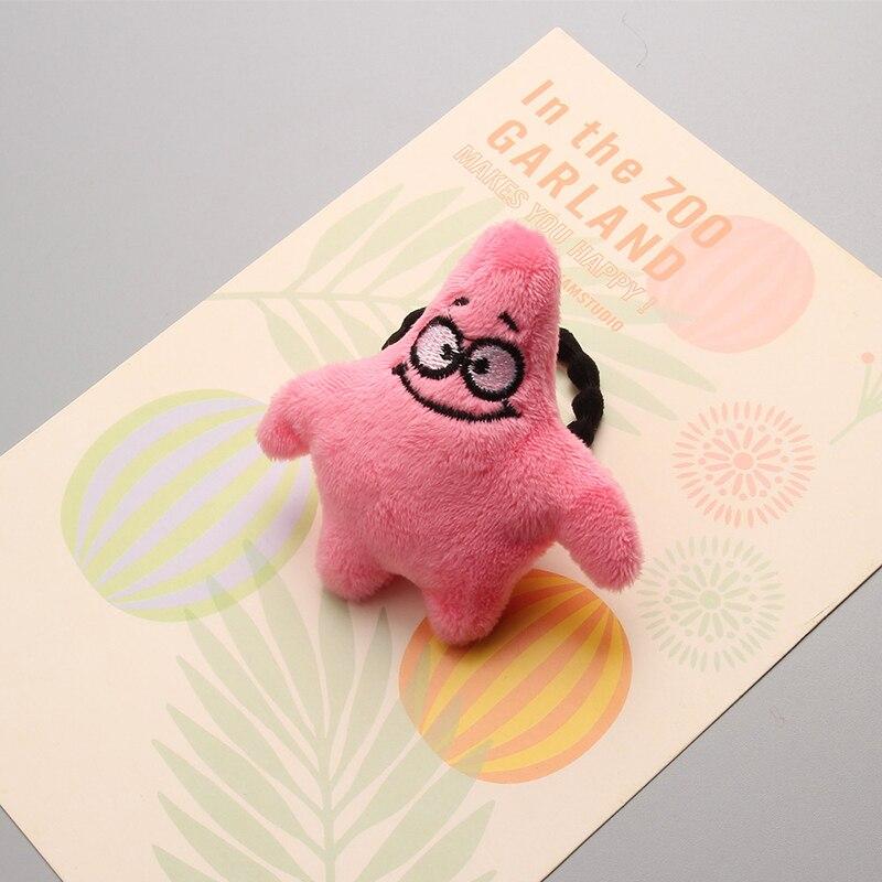 Novo spongebob patrick estrela princesa headwear crianças elásticas faixas de cabelo do bebê headdress meninas acessórios para o cabelo crianças cordas