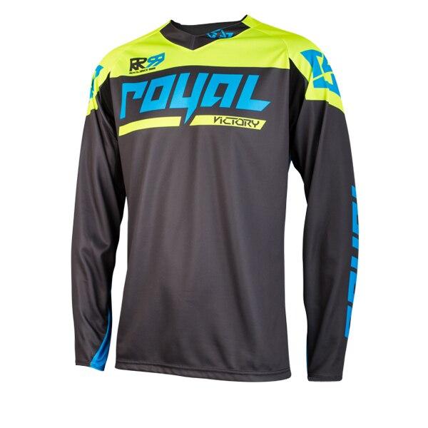 Real Racing-Camiseta para bicicleta de montaña MX DH para hombre de ropa...